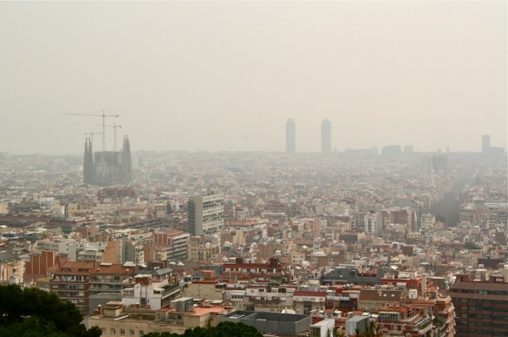 BARCELONA: Zona de bajas emisiones